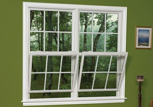 double tilt hung window