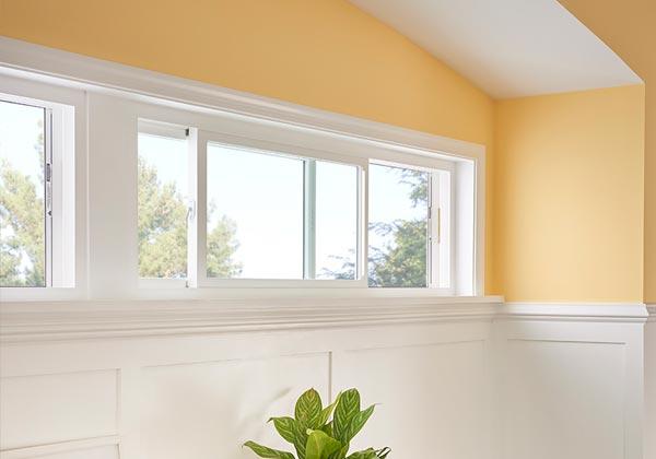 double slide window